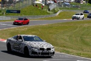 BMW perlihatkan M8 GTE di lintasan balap