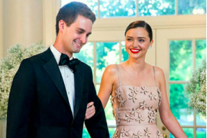Miranda Kerr menikah dengan CEO Snapchat