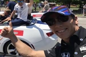 Sato, pebalap Jepang pertama menang Indy 500
