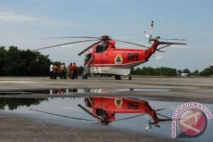 BPBD Jambi: Kedatangan helikopter pemadam karhutla tertunda