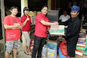 Innova Community salurkan donasi korban kebakaran Baduy Luar