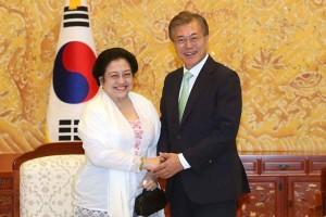 Megawati Soekarnoputri garden inaugurated in Jeju