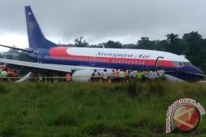 Bandara Manokwari ditutup setelah pesawat Sriwijaya tergelincir