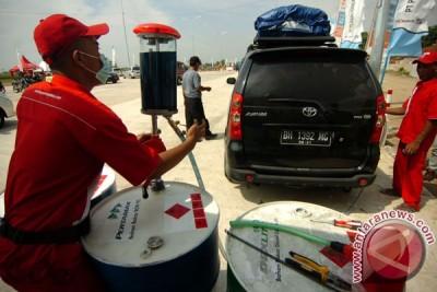 Musim mudik, penjualan BBM Pertamina di Jabar naik 49 persen