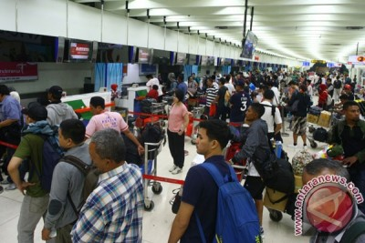 Penumpang Bandara Soetta hingga H+2 tercatat 2.172.815 jiwa