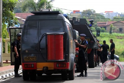 Tersangka penyerang Mapolda Sumut dibawa ke Jakarta