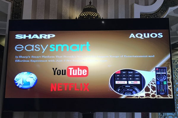 Sharp Benamkan YouTube Dan Netflix Pada Smart Tv