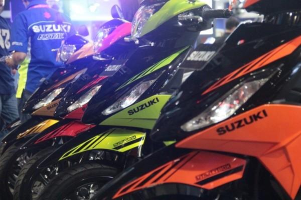 Suzuki Address dan Smash FI punya tampilan baru