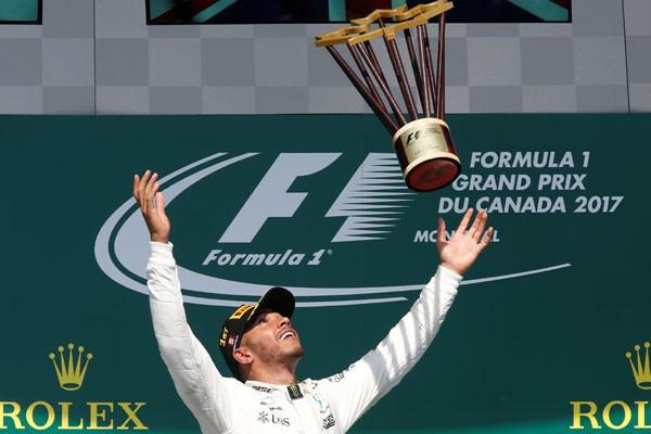 Hamilton menang di F1 Canadian Grand Prix