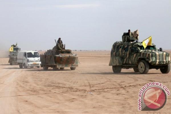 Pasukan Irak singkirkan ISIS dari sekitar markas AS di Suriah