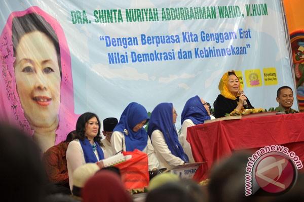 Sinta Nuriyah: Puasa momentum bangun persaudaraan sejati
