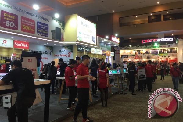 Perang diskon gadget di Jakarta Fair 2017