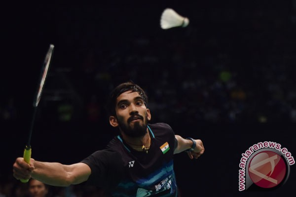 Srikanth beri gelar perdana tunggal putra India
