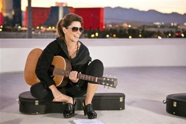 Shania Twain bounces back with