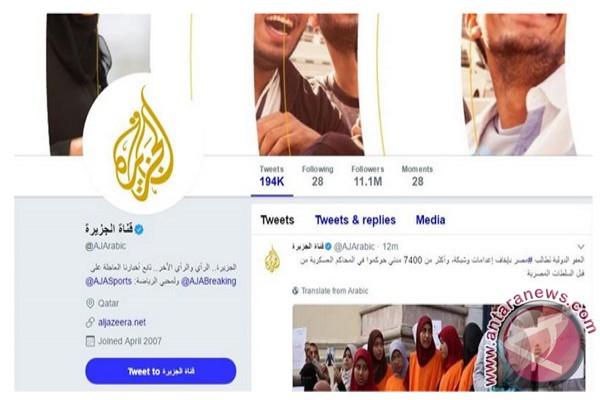 Al Jazeera nyatakan Twitternya kembali berkiprah