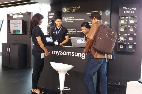 """Samsung hadirkan layanan """"Samsung Zone"""" di jalur mudik"""