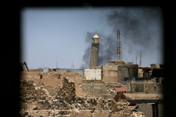 ISIS ledakkan masjid bersejarah di Mosul