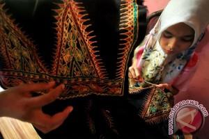 Permintaan Songket Aceh