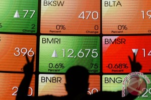 IHSG ditutup menguat 19,29 poin