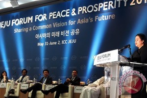 Menko PMK tawarkan Pancasila untuk peradaban dunia yang maju dan bermartabat di Jeju Forum for Peace and Prosperity 2017