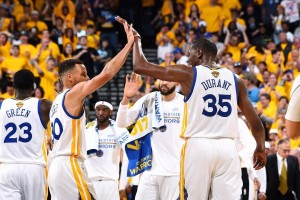 Durrant-Curry antar Warriors tundukkan Cleveland 132-113 di final kedua