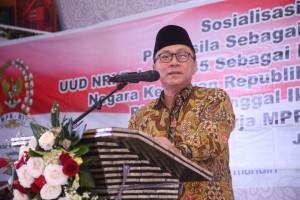 Ketua MPR sosialisasi empat pilar kepada santri Bandung