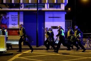 20 orang dibawa ke rumah sakit setelah serangan di London