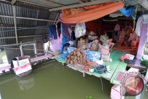 Banjir setinggi dua meter di Gorontalo rendam ratusan rumah