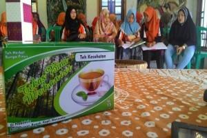 Teh herbal bunga pinus ciptaan mahasiswa Magelang