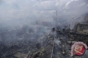 Kebakaran Pemukiman Padat Penduduk