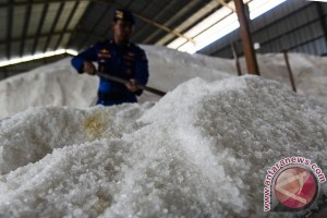 Bareskrim geledah gudang PT Garam di Jatim