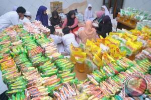 Baznas Bangka bagikan 800 paket sembako