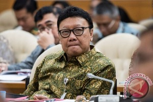 Mendagri minta DPR percepat penyelesaian UU Pemilu