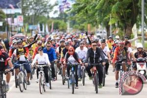 Ribuan peserta ikuti Gowes Pesona Nusantara di Pelaihari