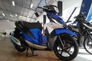 Suzuki jual 1.408 unit sepeda motor di Jakarta Fair 2017