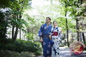 Keio Plaza Hotel Tokyo hadirkan pengalaman mengenakan kimono santai (Yukata)