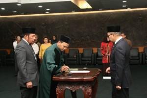 Ketua MPR lantik tiga anggota MPR baru PAW