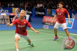 Marcus/Kevin satu-satunya finalis Indonesia di Denmark Terbuka