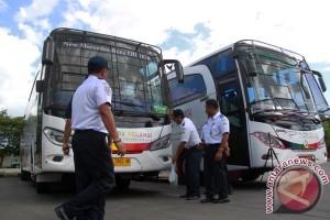 Sidak Kelayakan Armada Bus