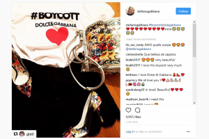 Dukung Melania Trump, Dolce & Gabbana jual kaus #Boycott Rp3 juta-an