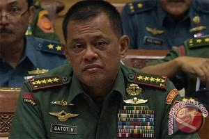 Panglima TNI sebut 16 wilayah terdeteksi sel-sel ISIS