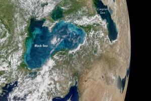 """Ledakan plankton"" membuat Selat Bosphorus berwarna pirus susu"