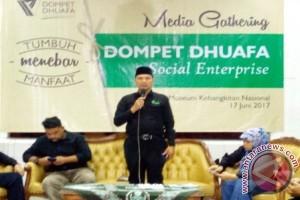 Dompet Dhuafa tingkatkan omset 100 persen pada 2017