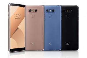 LG luncurkan G6+ dengan lebih banyak memori dan warna baru