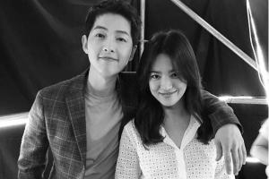Song Joong-ki buka mulut soal rumor pacaran dengan Song Hye-gyo