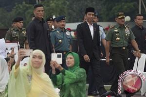 Presiden Buka Puasa Di Mabes TNI