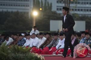 Presiden Jokowi minta TNI dukung Polri jaga Kamtibmas