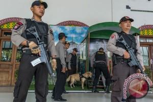 Pengamanan Mudik Stasiun Tawang