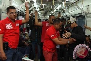 Razia Narkotika Di Kereta