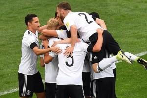 Jerman pastikan lolos ke Piala Dunia 2018 setelah menang 3-1 atas Irlandia Utara